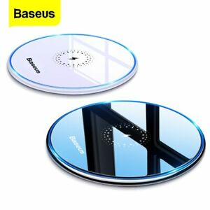 Baseus 15W Qi Wireless Charger Fast Charging Pad for iPhone 11 X Samsung S20 S10
