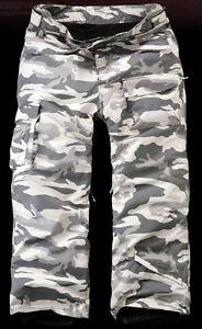 SOUTH PLAY Mens Ski Snowboard Waterproof Snow Winter Pants Trousers CAMO GRAY