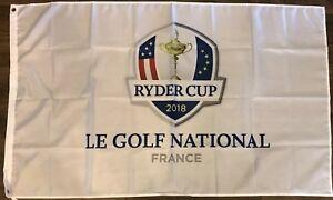 Ryder Cup 2018 France Le Golf National Flag 3x5 Man Cave