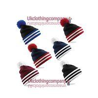 Beechfield Universitaire Calotte - Unisexe bonnets à pompon - 6 super couleurs