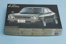 Fujimi 1/24 Toyota Levin TE27, opened, with four extra/cool rims/tires