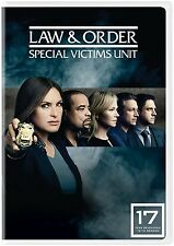Law & And Order SVU Special Victims Unit: & Seventeenth Year 17 DVD