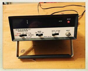 Heathkit Digital Frequency Counter IM-4100 - Working