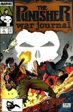 Punisher War Journal # 4 Jim Lee Cover 1989 Comic Book