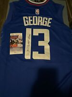 Paul George Signed Autographed Los Angeles Clippers Jersey! JSA