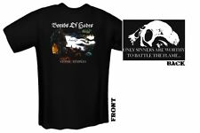 BOMBS OF HADES Atomic Temples T-SHIRT SIZE: LARGE