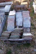"Lot of 4 Antique Vintage New England Large 12� x 18"" Kraft Slate Tiles Shingles"