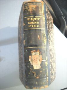 1855 WALTER SCOTT  5  ROMANZI STORICI