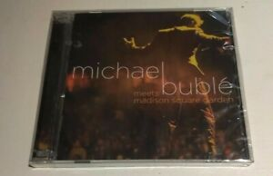 sealed/brand new MICHAEL BUBLE Meets Madison Square Garden live CD-DVD (2009)