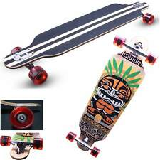 "41"" X 9-1/2"" Longboard Skateboard Cruiser Through downhill Complete Professional"