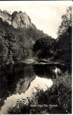 Derbyshire: High Tor, Matlock - RP - Posted 1942