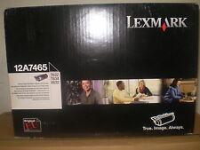 Lexmark original Toner 12A7465 neu OVP  T632 X630  X632 T634 neu B