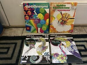 12 DIFFERENT ADULT COLORING BOOKS, PAISLEY, KAPPA, PSALMS, ORLA KIELY, BRAND NEW