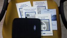 Libretto Uso e Manutenzione FORD FIESTA 2000 con custodia originale + audio