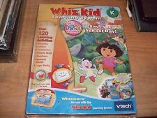Whiz Kid Learning System Dora the Explorer Saves the School Day Vtech Game NEW
