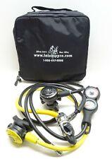 TUSA R100 Regulator with 3 Gauge Console w/ Case