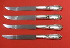 Splendor by International Sterling Silver Steak Knife Set 4pc Texas Sized Custom