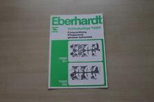 163484) Eberhardt Volldrehpflug Tiger 501 650 Prospekt 06/1976