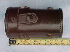 E. Leitz New York RARE Vintage Leather Case for Leica Rangefinder Lens - MINTY!