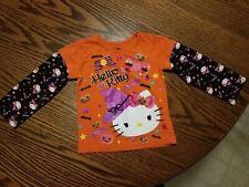 Hello Kitty Long Sleeve Halloween Toddler Girls Shirt Top Size 2T