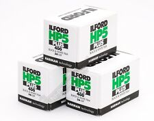 Ilford HP5+ 400asa Black & White Film 35mm 36 Exp 3 Rolls Expiry Date 07/2024
