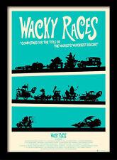 Wacky Races-incorniciato 30 x 40 Stampa Ufficiale
