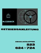Betriebsanleitung IHC 523 624 724 Betriebsanweisung