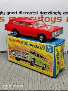 MATCHBOX Superfast No.73c Mercury Commuter MIB 1971 Original Vintage Diecast