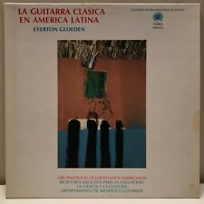 "Everton Gloeden ""La Guitarra Clasica En America Latina"" LP  OEA-012"
