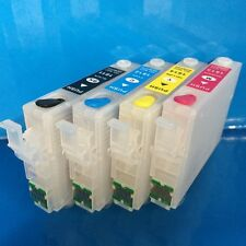 REFILLABLE Cartridges Epson Expression Home XP402 XP405 XP412 XP422 18 Non OEM