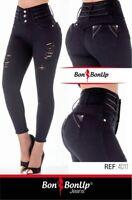 4314 Bon Bon Up Jeans Levanta cola jeans colombianos butt lifter levanta pompis