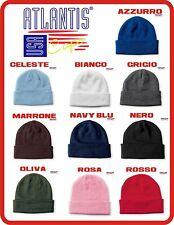 ATLANTIS 3 pezzi a SCELTA cuffia WIND berretto acrilico cappello HUTE BEANIE cap