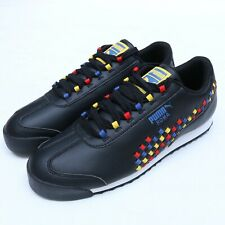 Puma Roma Weave 372273-01 Black Casual Athletic Fashion Sneakers Size 10.5-13
