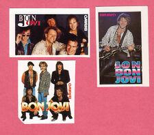 Jon Bon Jovi 1980s Movie Pop Rock Music Tv Mini Stickers from Germany B