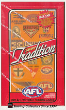 2005 Select AFL Traditions Trading Cards Factory Box (36 packs)