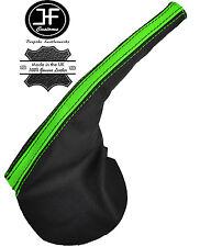 BLACK & GREEN LEATHER HANDBRAKE BOOT FITS FORD FALCON BA BF FPV GT XR6 XR8 02-07