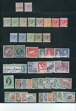 CYPRUS 1880-1968 A selection of singles and short sets and better EUROPAs F/VF M