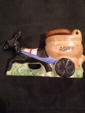 Donkey Burro Cart Wagon Pottery Made In Japan Planter Vintage