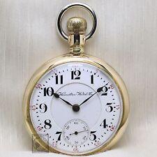 BIG Gold 1906 Hamilton 940 RAILROAD Grade Pocket Watch 18s Antique USA Lever Set