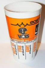 VTG 1984 University Tennessee Vols Football Schedule East Towne Mall Stadium Cup