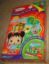 Colorforms 3-D Deluxe Play Set Ni Hao Kai-Lan, New And Sealed, For Ages 3 & Up