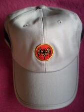 Cap / Basecap in Grau/Schwarz mit Fledermaus- BAT-LOGO Stickung BACARDI / NEU