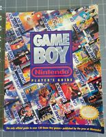 Vintage: Game Boy Strategy Guide Nintendo Player's Guide Official Book GameBoy