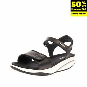 RRP €215 MBT Leather Ankle Strap Sandals EU 43 UK 9 US 12-12.5 Non Marking Sole