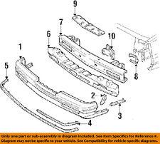 Buick GM OEM 89-91 Skylark Front Bumper-Center Support 22537792