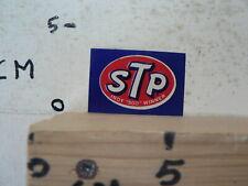 STICKER,DECAL STP LOGO  INDY 500 WINNER OIL GAS ? SMALL STICKER