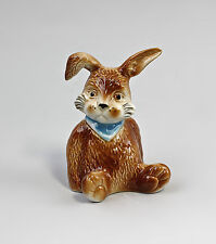 Porcelain Rabbit Muckel Blue Scarf Wagner & Apel H9Cm 9942609