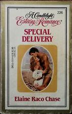 Special Livraison Par Alaine Raco Chase, A Bougie Light Ecstasy Romance 1984