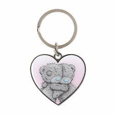 Me to You Heart Keyring Two Teddies Cuddling Key Attachment - Tatty Teddy Bear