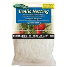"""Gardeneer Trellis Netting 5'x15' w/ 7"""" holes nylon tomato support garden TP-15C"""